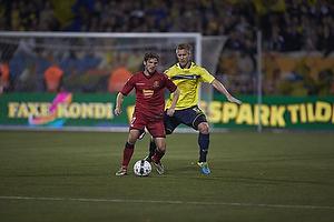 S�ren Christensen (FC Nordsj�lland), Martin Albrechtsen (Br�ndby IF)