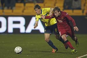 Alexander Szymanowski (Br�ndby IF), Mario Ticinovic (FC Nordsj�lland)
