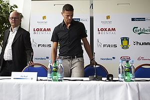Khalid Boulahrouz (Br�ndby IF), Per Rud, sportschef (Br�ndby IF)