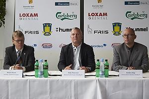 Pressemøde med Brøndby IF og Spillerforeningen