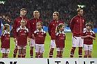 Martin C. Braithwaite (Danmark), William Kvist J�rgensen (Danmark), Christian Eriksen (Danmark), Nicklas Bendtner (Danmark)