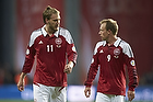 Nicklas Bendtner (Danmark), Michael Krohn-Dehli (Danmark)