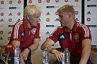 Morten Olsen, cheftr�ner (Danmark), Kasper Schmeichel (Danmark)