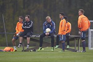 John Ranum (Br�ndby IF), Patrick Da Silva (Br�ndby IF), Quincy Antipas (Br�ndby IF), Martin Albrechtsen (Br�ndby IF)