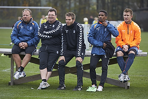 Peder Siggaard (Br�ndby IF), John Ranum (Br�ndby IF), Peter Foldgast (Br�ndby IF), Quincy Antipas (Br�ndby IF), Martin Albrechtsen (Br�ndby IF)