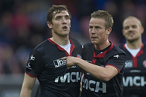 Morten Duncan Rasmussen (FC Midtjylland), Jeppe Curth, m�lscorer (FC Midtjylland)