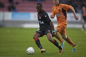 Sylvester Igboun (FC Midtjylland), Johnny Thomsen (Randers FC)