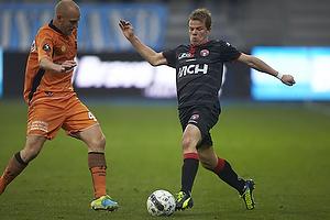 Jesper Lindorff Juelsg�rd (FC Midtjylland), Johnny Thomsen (Randers FC)