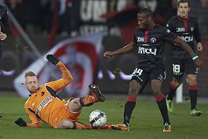 Ronnie Schwartz (Randers FC), Sylvester Igboun (FC Midtjylland)