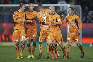 Viktor Lundberg (Randers FC), Nicolai Brock-Madsen (Randers FC), Mads Agesen (Randers FC), Ronnie Schwartz, m�lscorer (Randers FC), Christian Keller (Randers FC), Jonas Kamper (Randers FC)