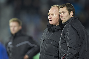 Glen Riddersholm, cheftr�ner (FC Midtjylland), Brian Priske, assistenttr�ner (FC Midtjylland)