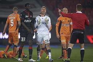 Peter Friis Jensen (Randers FC), Ebere Paul Onuachu (FC Midtjylland), Christian Keller, anf�rer (Randers FC)