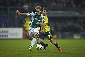 Christopher Poulsen (Viborg FF), Ferhan Hasani (Br�ndby IF)