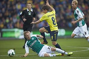 Alexander Szymanowski (Br�ndby IF), Marcel R�mer (Viborg FF)