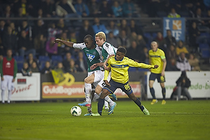 Babajide Ogunbiyi (Viborg FF), Jonas Thorsen (Viborg FF), Quincy Antipas (Br�ndby IF)