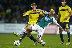 Michael Almeb�ck (Br�ndby IF), Thomas Dalgaard (Viborg FF)
