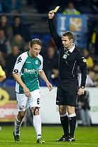 Christopher Poulsen (Viborg FF), Jens Maae, dommer