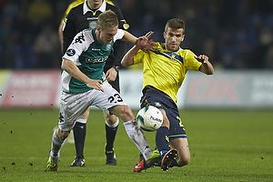 Marcel R�mer (Viborg FF), Ferhan Hasani (Br�ndby IF)