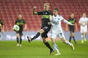 Kasper Larsen (Ob), C�sar Santin, anf�rer (FC K�benhavn)