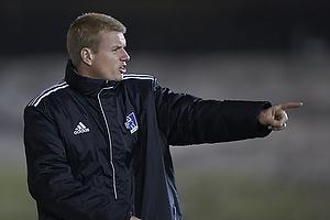 John Lange, cheftr�ner (Lyngby BK)