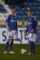 Patrick Mortensen (Lyngby BK), Bror Blume (Lyngby BK)