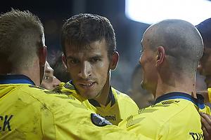 Ferhan Hasani, m�lscorer (Br�ndby IF), Mikkel Thygesen, anf�rer (Br�ndby IF)