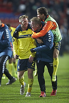 Michael Almeb�ck (Br�ndby IF), Andrew Hjulsager (Br�ndby IF)