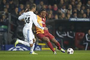Didier Drogba (Galatasaray), Youssef Toutouh (FC K�benhavn)