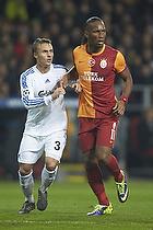 Didier Drogba (Galatasaray), Pierre Bengtsson (FC K�benhavn)