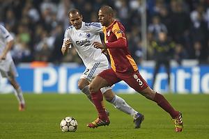 Felipe Melo (Galatasaray), Daniel Omoya Braater (FC K�benhavn)