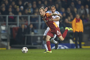 Semih Kaya (Galatasaray), Daniel Omoya Braater (FC K�benhavn)