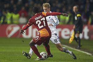 Nicolai J�rgensen (FC K�benhavn), Emmanuel Ebou� (Galatasaray)