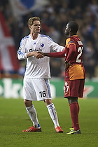 Thomas Kristensen (FC K�benhavn), Emmanuel Ebou� (Galatasaray)
