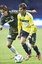 Alexander Szymanowski (Br�ndby IF), Alexander Juel Andersen (Agf)