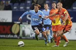 Nicolai Madsen (S�nderjyskE), Jens Berthel Askou, anf�rer (Esbjerg fB)