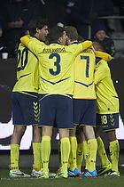 Dario Dumic (Br�ndby IF), Khalid Boulahrouz (Br�ndby IF), Thomas Kahlenberg (Br�ndby IF)
