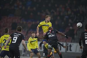 Martin Albrechtsen (Br�ndby IF), Sylvester Igboun (FC Midtjylland)
