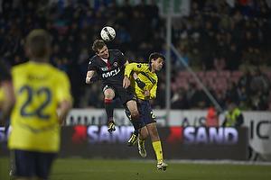 Morten Duncan Rasmussen (FC Midtjylland), Dario Dumic (Br�ndby IF)