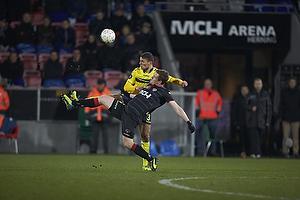 Khalid Boulahrouz (Br�ndby IF), Morten Duncan Rasmussen (FC Midtjylland)