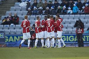 Rasmus Festersen, m�lscorer (FC Vestsj�lland), Michael Christensen (FC Vestsj�lland), Michael Lumb (FC Vestsj�lland), Lasse Nielsen (FC Vestsj�lland)