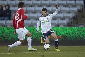 Oliver Lund (FC Vestsj�lland), Osama Akharraz (Agf)