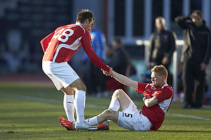 Oliver Lund (FC Vestsj�lland), Alexander Juel Andersen (Agf)
