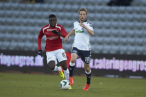 Martin J�rgensen (Agf), Joel Tshibamba (FC Vestsj�lland)