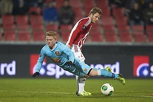 Lasse Nielsen (Aab), Anders Christiansen (FC Nordsj�lland)