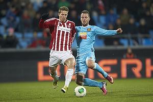 Jakob Ahlmann Nielsen (Aab), Kim Aabech (FC Nordsj�lland)