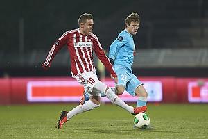 Anders K. Jacobsen (Aab), Mario Ticinovic (FC Nordsj�lland)
