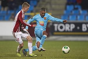 Kasper Kusk (Aab), Patrick Mtiliga (FC Nordsj�lland)