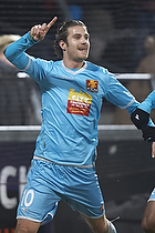 Martin Vingaard, m�lscorer (FC Nordsj�lland), Joshua John (FC Nordsj�lland)