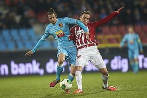 Martin Vingaard (FC Nordsj�lland), Anders K. Jacobsen (Aab)