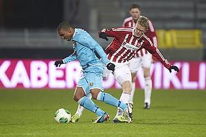 Kasper Kusk (Aab), Joshua John (FC Nordsj�lland)